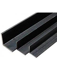 "Angulo de hierro negro 1/4""x1-1/2"""