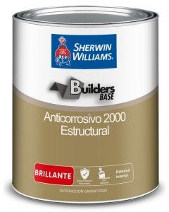 Anticorrosivo Estructural 2000 Satinado Color Gris Sherwin Williams 1 galon
