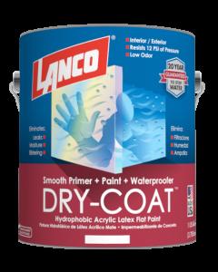 Pintura 3 en 1 Dry Coat Liso Lanco 1 galon