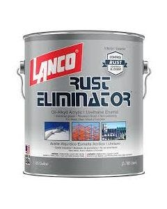 Pintura Alquidica Anticorrosiva Rust Eliminator Aluminio Lanco 1 galon