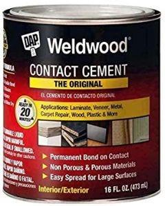 Cemento de Contacto DAP 1/4 galon
