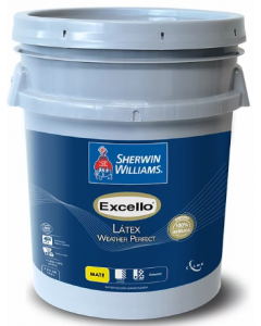Excello Wather perfect Latex Extra Whithe  Mate Sherwin Williams 5 galones