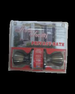 Cerradura para baño color bronce Martin Security