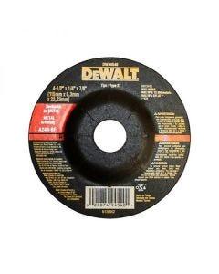 "Disco de desbaste de metal 4 1/2"" Dewalt"