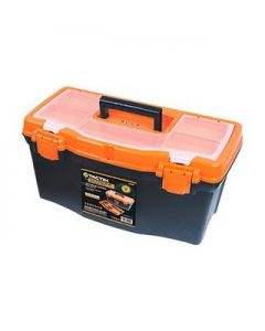 "Caja plástica para herramientas 16"" Tactix"