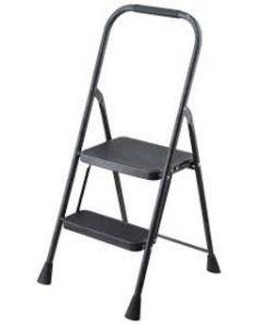 Escalera de metal 2 pasos