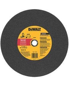"""Disco de corte metal 14"""" Dewalt"""