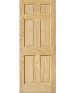 Puerta Semisólida 6 Paneles 3'x7'x44mm