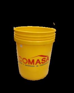 Envase de 5 galones logo COMASA