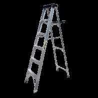 Escalera de Tijera de Aluminio de 6 pasos Inco