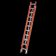 Escalera de exensión de fibra de vidrio 16 pies