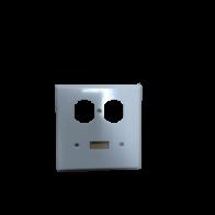 Tapa interruptor/Tomacorriente color blanco