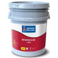 Peninsular Latex Base Extra White Sherwin Williams 5 galones