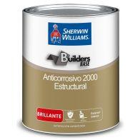 Anticorrosivo Satinado 2000 Color Rojo Sherwin Williams 1 galon