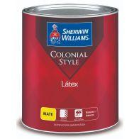 Pintura Colonial Base Extra White Sherwin Williams 1 galon