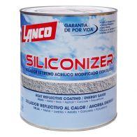 Siliconaizer Color Rojo Teja Lanco 1 galon
