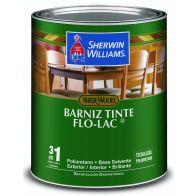 Barniz Tinte Caoba Sherwin Williams 1/4 galon