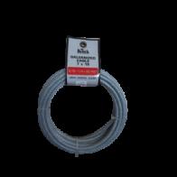 Cable galvanizado revestido 3/16- 1 /4x50 pies A451