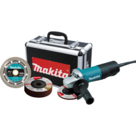 "Kit esmeriladora 41/2"" MAKITA"
