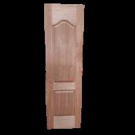 Puerta Semisólida de Plywood Okume 2 Paneles Curvos 2'x7'x35mm