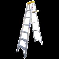 Escalera de tijera aluminio 10 pies