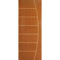Puerta Semisólida de Plywood Deco Fenix 3'x7'